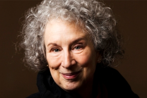 Canadian author Atwood poses for a portrait in Toronto